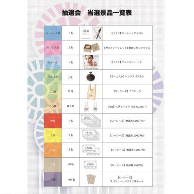 8/22まで ローシーズ大抽選会!!
